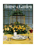 House & Garden Cover - May 1954 Giclee Print by William Grigsby