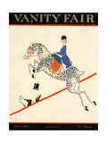 Vanity Fair Cover - April 1920 Regular Giclee Print by Aline Farrelly
