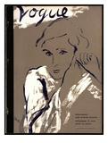 "Vogue Cover - November 1934 Regular Giclee Print by Carl ""Eric"" Erickson"