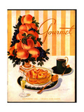 Gourmet Cover - September 1945 Regular Giclee Print by Henry Stahlhut