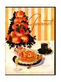 Gourmet Cover - September 1945 Giclee Print by Henry Stahlhut
