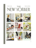 The New Yorker Cover - February 25, 2008 Regular Giclee Print by Adrian Tomine