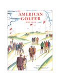 The American Golfer May 1929 Giclee Print by Frank Boyd