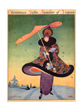 Vogue Cover - December 1913 Regular Giclee Print by George Wolfe Plank