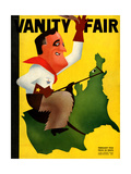 Vanity Fair Cover - February 1934 Regular Giclee Print by Leon Carlin