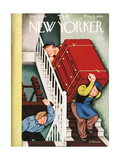 The New Yorker Cover - September 28, 1935 Regular Giclee Print by Antonio Petruccelli