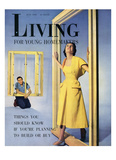 Living for Young Homemakers Cover - July 1950 Regular Giclee Print by Philippe Halsman