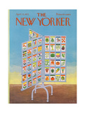 The New Yorker Cover - April 22, 1972 Regular Giclee Print by Charles E. Martin