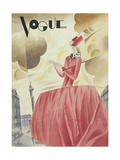 Vogue - April 1927 Regular Giclee Print by William Bolin
