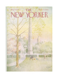 The New Yorker Cover - May 10, 1976 Regular Giclee Print by Charles E. Martin