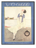 Vogue Cover - July 1925 Regular Giclee Print by Georges Lepape