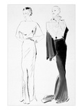 Vogue - November 1934 Regular Giclee Print by René Bouét-Willaumez