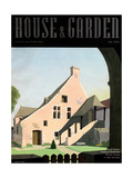 House & Garden Cover - July 1936 Regular Giclee Print by Pierre Pagès