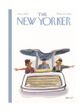 The New Yorker Cover - August 1, 1964 Regular Giclee Print by Frank Modell