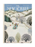 The New Yorker Cover - February 1, 1947 Regular Giclee Print by Edna Eicke