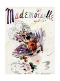 Mademoiselle Cover - April 1936 Regular Giclee Print by Helen Jameson Hall