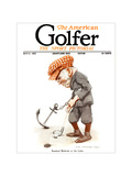 The American Golfer April 8, 1922 Lámina giclée de primera calidad por Flagg, James Montgomery