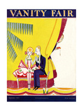 Vanity Fair Cover - September 1923 Regular Giclee Print by A. H. Fish