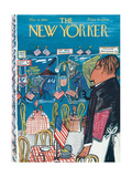 The New Yorker Cover - March 6, 1943 Regular Giclee Print by Ludwig Bemelmans