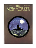 The New Yorker Cover - November 13, 1971 Regular Giclee Print by Donald Reilly