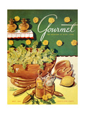 Gourmet Cover - May 1952 Regular Giclee Print by Henry Stahlhut