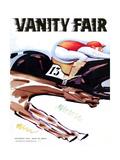 Vanity Fair Cover - September 1935 Giclee Print by  Charlot