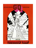 GQ Cover - February 1970 Regular Giclee Print by Peter Max