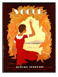 Vogue Cover - July 1930 Giclee Print by Georges Lepape