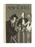The New Yorker Cover - March 11, 1950 Regular Giclee Print by Peter Arno