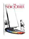 The New Yorker Cover - October 17, 1959 Giclee Print by Arthur Getz