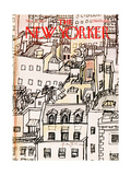 The New Yorker Cover - November 21, 1977 Regular Giclee Print by Andre Francois