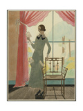 Vogue - March 1923 Giclee Print by Harriet Meserole