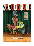 Vanity Fair Cover - October 1934 Regular Giclee Print by  Garretto