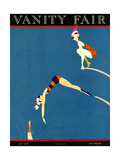 Vanity Fair Cover - July 1921 Regular Giclee Print by A. H. Fish