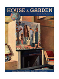 House & Garden Cover - April 1933 Regular Giclee Print by Louis Bouché