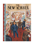 The New Yorker Cover - February 3, 1940 Regular Giclee Print by Virginia Snedeker