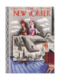 The New Yorker Cover - August 31, 1935 Giclee Print by Harry Brown