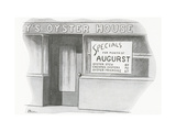 Gourmet - August, 1946 Regular Giclee Print by  Phin