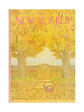 The New Yorker Cover - July 12, 1976 Regular Giclee Print by Jenni Oliver