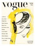 "Vogue Cover - January 1944 Regular Giclee Print by Carl ""Eric"" Erickson"