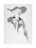 Vogue - March 1935 Regular Giclee Print by Cecil Beaton