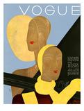 Vogue Cover - January 1931 Regular Giclee Print by Eduardo Garcia Benito