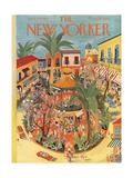 The New Yorker Cover - April 25, 1953 Regular Giclee Print by Ilonka Karasz