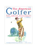 The American Golfer May 2, 1925 Giclee Print by James Montgomery Flagg