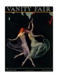 Vanity Fair Cover - December 1925 Regular Giclee Print by Warren Davis
