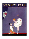 Vanity Fair Cover - April 1922 Reproduction proc&#233;d&#233; gicl&#233;e par A. H. Fish