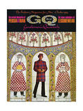 GQ Cover - October 1969 Regular Giclee Print by Leonard Nones