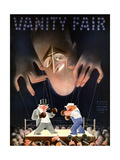 Vanity Fair Cover - March 1935 Regular Giclee Print by  Garretto
