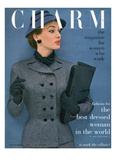 Charm Cover - September 1952 Reproduction proc&#233;d&#233; gicl&#233;e par Carmen Schiavone