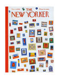 The New Yorker Cover - December 13, 1958 Premium Giclee Print by Anatol Kovarsky